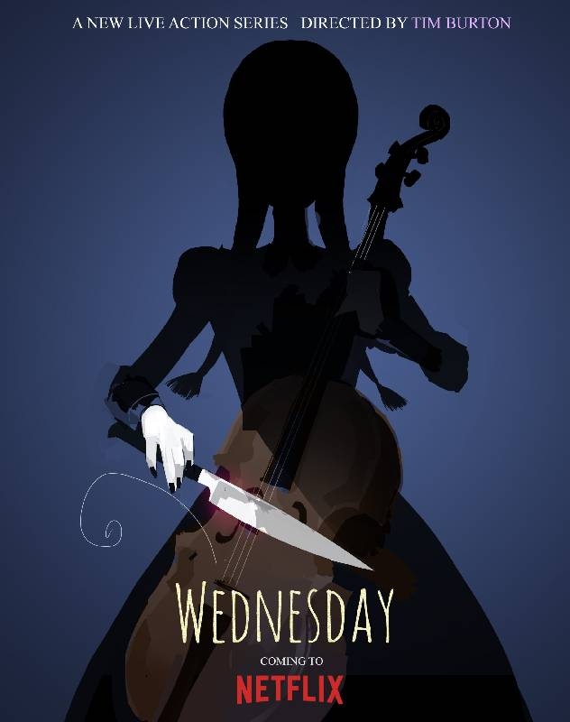 Série Netflix Wednesday Addams